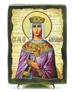 Александра, Св.Мч, икона под старину, на дереве (13х17)