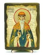 Вадим, Св.Муч, икона под старину, на дереве (13х17)