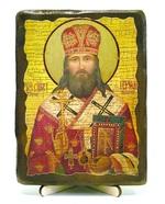 Герман, епископ Алатырский, икона под старину, на дереве (13х17)