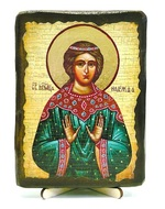 Надежда, Св.Муч, икона под старину, на дереве (13х17)
