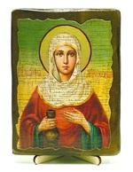 Иоанна Мироносица, Св.Праведная, икона под старину, на дереве (13х17)