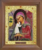 Взыскание погибших Б.М. Икона в деревянной рамке с окладом (Д-26псо-106)