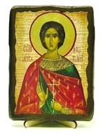 Анатолий, Св.Мч, икона под старину, на дереве (13х17)
