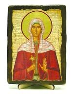 Христина, Св.Муч, икона под старину, на дереве (13х17)