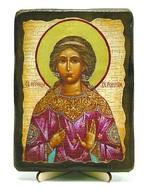 Вероника, Св.Муч, икона под старину, на дереве (13х17)