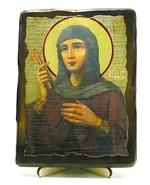 Евдокия, Св.Муч, икона под старину, на дереве (13х17)