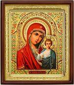 Казанская Б.М.,икона в деревянной рамке (Д-18пс-11)