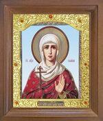 Галина, Св.Мч. Икона в деревянной рамке с окладом (Д-26псо-112)