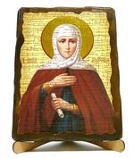 Анна, Св.Пр., икона под старину, на дереве (17х23)