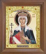 Елена Св.Рн.Ап.Цр. Икона в деревянной рамке с окладом (Д-26псо-117)