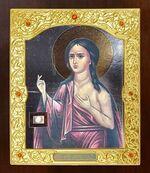 Мария Египетская. Икона в окладе средняя (Д-21-119)