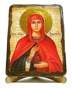 Анастасия, Св.Мч., икона под старину, на дереве (17х23)