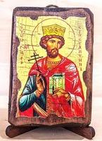Константин, Св.Р.Ап., икона под старину, сургуч (8 Х 10)
