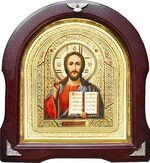 Спаситель. Аналойная арочная икона (А-19)