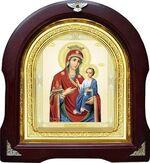 Иверская Б.М. Аналойная арочная икона (А-34)