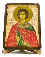 Анатолий, Св.Мч., икона под старину, на дереве (17х23)