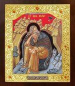 Илья Пророк. Икона в окладе средняя (Д-21-124)