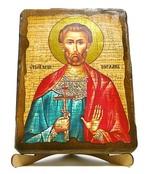 Богдан (Феодот), икона под старину, на дереве (17х23)