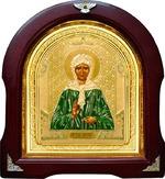 Матрона Московская. Аналойная арочная икона (А-39)