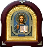 Спаситель. Аналойная арочная икона (А-18)