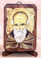 Максим Исповедник, икона под старину, сургуч (8 Х 10)