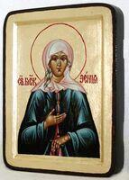 Ксения Петербургская, икона Греческая, 13 Х 17