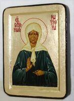 Матрона Московская, икона Греческая, 13 Х 17