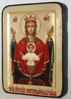Неупиваемая чаша Б.М., икона Греческая, 13 Х 17