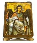 Архистратиг Михаил, икона под старину, на дереве (17х23)