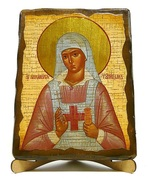 Аполлинария, Св.ПрПд., икона под старину, на дереве (17х23)