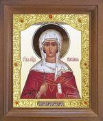Наталия, Св.Муч. Икона в деревянной рамке с окладом (Д-26псо-137)