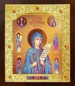 Параскева Пятница, Св. Вмч. Икона в окладе средняя (Д-21-140)