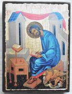 Апостол и Евангелист Марк, икона под старину JERUSALEM прямая (11 Х 15)