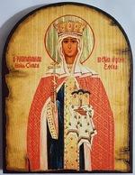 Ольга, Св.Рн.Ап.Кн., икона под старину JERUSALEM, арка (13 Х 17)