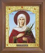 Татьяна, Св.Муч. Икона в деревянной рамке с окладом (Д-26псо-156)