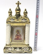 Семистрельная Б.М., керамика, икона большая купола, крест, цвет золото (СА).