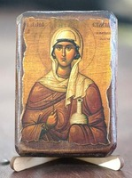 Анастасия, Св.Мч., икона под старину, сургуч (8 Х 10)