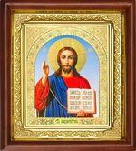 Спаситель, икона в деревянной рамке (Д-16пс-20)