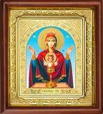 Неупиваемая чаша Б.М., икона в деревянной рамке, (Д-16пс-44)