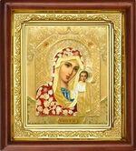 Казанская Б.М., икона в деревянной рамке (Д-16пс-09)