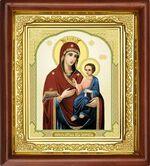 Иверская Б.М., икона в деревянной рамке (Д-16пс-34)