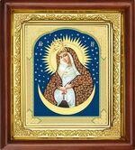 Остробрамская Б.М., икона в деревянной рамке (Д-16пс-45)