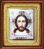 Спас Нерукотворный, икона в деревянной рамке (Д-16пс-24)