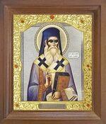 Нектарий Эгинский. Икона в деревянной рамке с окладом (Д-26псо-165)