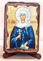 Валерия, Св.Муч., икона под старину, сургуч (8 Х 10)