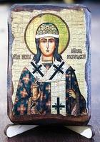 Никита, епископ Новгородский, икона под старину, сургуч (8 Х 10)