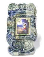 Моление о чаше, керамика, икона малая, цвет светлая глазурь (СА).