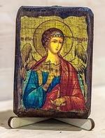 Ангел Хранитель, икона под старину, сургуч (8 Х 10)
