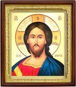 Спаситель,икона в деревянной рамке (Д-18пс-21)