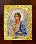 Ангел Хранитель. Икона в окладе средняя (Д-21-01)